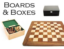 Beautiful Boxes and Chessboards, for Many Types of Chessmen