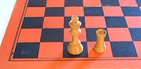 after castling queen-side in chess