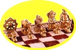 how to play shatar (Mongolian chess)