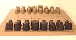 shatranj, the ancient form of chess, all ready to play