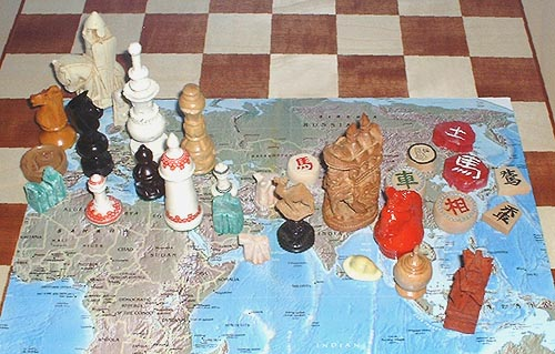 the many forms of chess around the world and throughout history