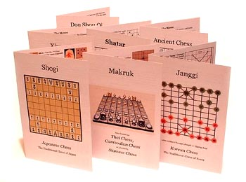 rules of several chess variants